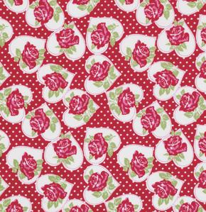 Valentine Layer Cake Fabric