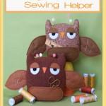 TB025 Sleepy Owl Sewing Helper