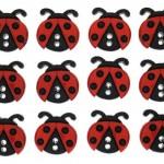 JBT6940 Sew Cute Lady Bugs