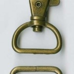 ATK510AB DRing & Swivel Brass