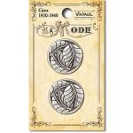 1708VT Vintage Leaf Antiqu Silver