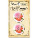 1718VT Vintage Roses on River Shell