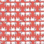 850044D2-4 Elephants Red