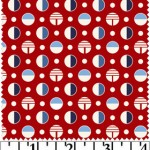 KIG03-REB Red-Blue Split Dot