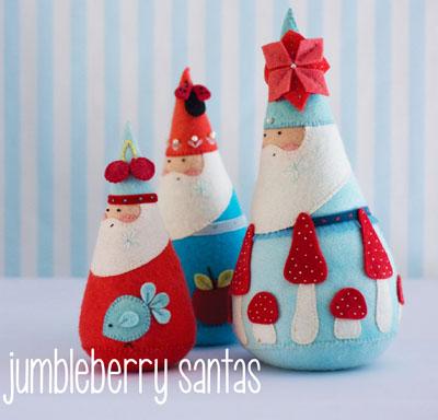 Jumbleberry Santas Sew Hot
