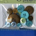 TT112 Trims & Treasures Electric Blue