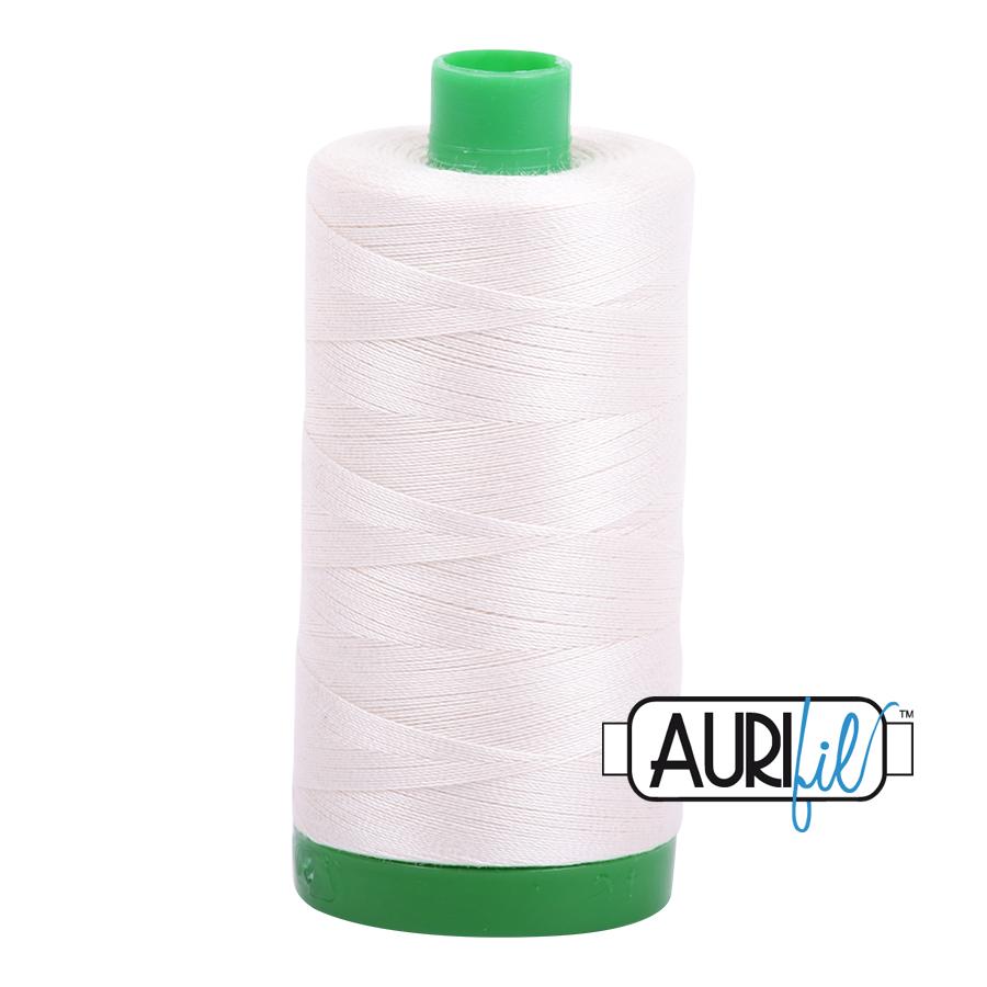 40 Wt Aurifil Cotton 1000m Spools