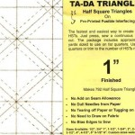 TD1 TaDa 1in Triangles