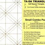 TDSMALL Ta Da Triangles Small Combo Pack