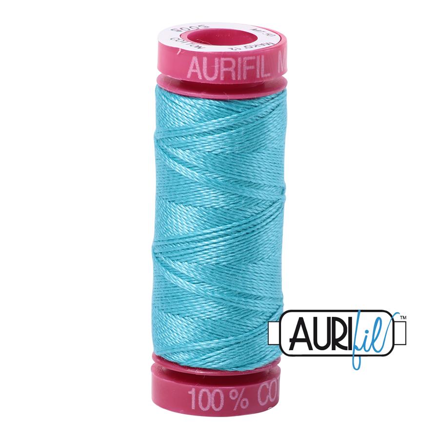 12 Wt Aurifil Cotton 50m Spools
