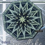 JNQ111P Feathered Snowflake Tree Skirt