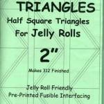 TDJR2 Ta Da Jelly Roll Triangles