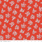 C4342-Red Milk Floral Red