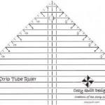 CQD05001 Strip Tube Ruler