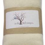 WH5128 Wool Felt Ivory 16x51