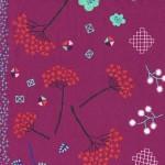 1910-2 Mochi Floral Purple