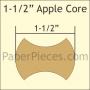 App150 Apple Core 1.5in