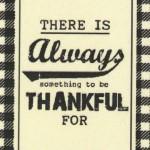 LP502-L Thankful Iron-on Label