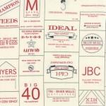 5570-11 Novelty Labels Brands Red