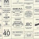 5570-13 Novelty Labels Brands Black