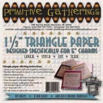 PRI-225 1.5in Triangle Paper for Charms