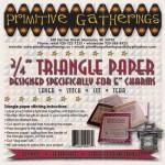 PRI-227 .75in Triangle Paper