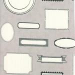 5581-27 Labels Grey