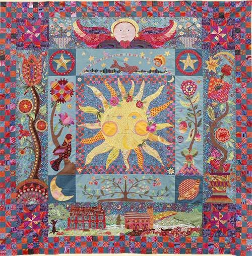 Celestial dream pattern sew hot for Celestial fleece fabric