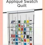ZW2132 Applique Swatch Quilt