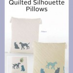 ZW2156 Quilted Silhouette Pillows