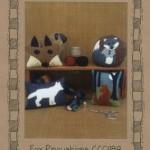 CCQ189 Fox Pincushions