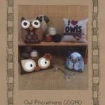 CCQ190 Owl Pincushions