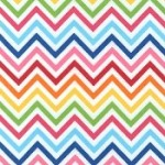 Rainbow Chevron Flannel