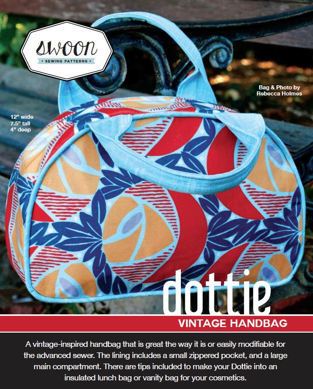 Dottie Vintage Handbag | Sew Hot
