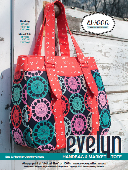 Evelyn Market Tote Sew Hot