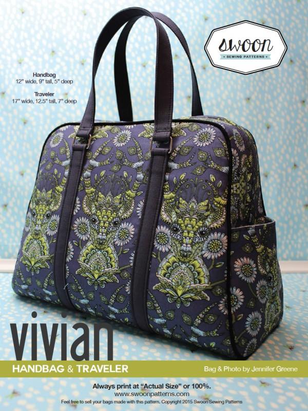 Vivian Handbag & Traveler | Sew Hot