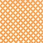 55111-26 Floral Orange Peel Orange
