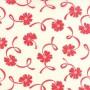 55116-21 Ribbon Cream Red