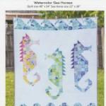 SC105 Watercolor Sea Horses