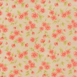 20255-15 Gingham Blooms Tan