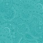 7315-76 Paisley Aqua