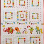 CT107 animal circus quilt