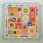CT108 fruit salad quilt
