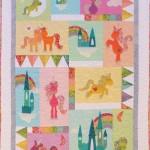 CT109 unicornia quilt