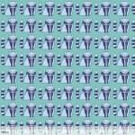 124.101.04.2 Petite Racoon Blue Garden Party Blend