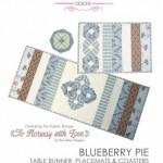 BBPIE sue daily blueberry pie pattern