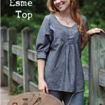 SLN116 esme top sew liberated