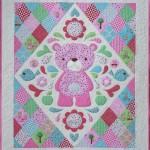MM150Large sleepy bear quilt