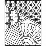 PCW121QC stencil sashiko sampler