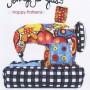 PT-5395 sewing machine pincushion jennifer jangles